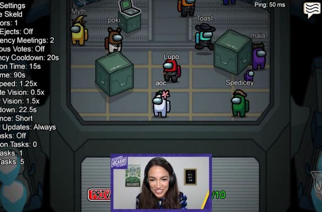 AOC's 'Among Us' Twitch stream peaked at over 435,000 viewers