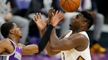 Another postponement in NBA; Fox scores 43 but Kings still fall to Pelicans