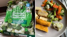 Mum's 'abhorrent' find in Woolworths veggies while feeding baby