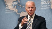 Joe Biden says he's not running for president 'at this point'