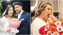 Dê adeus para as flores! Buquê de coxinhas vira tendência em casamentos