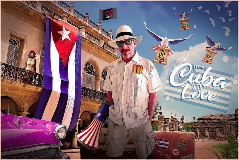 Bitcoin Millionaire John McAfee Makes Cuba His Presidential HQ