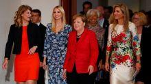 Ivanka Trump vs. Angela Merkel: Ist das das Ende der Hosenanzüge für Frauen?