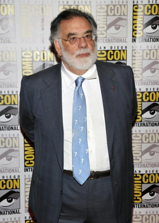 """Francis Ford Coppola is among the Hollywood """"talent"""" -- star-studded casts and directors -- to attend Comic-Con (AFP Photo/John Shearer)"""
