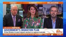 Scott Morrison announces new migration plan