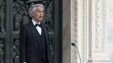 Tenor Andrea Bocelli revela que se curou da covid-19 e doa sangue para criação de vacina