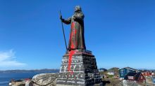 Greenland voters want to keep coloniser's vandalised statue