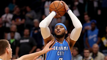 Starter or sixth man? Carmelo's uncertain role