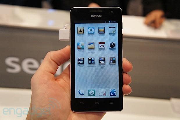 Huawei Ascend G526 hands-on: a midrange 4.5-inch LTE handset
