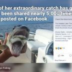 Fish with 'two mouths' photo goes viral