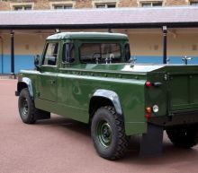 Fit for, and designed by, a prince: Philip's Land Rover funeral hearse