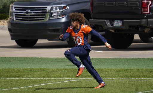Broncos RB Lindsay inactive, Jets WR Crowder returns