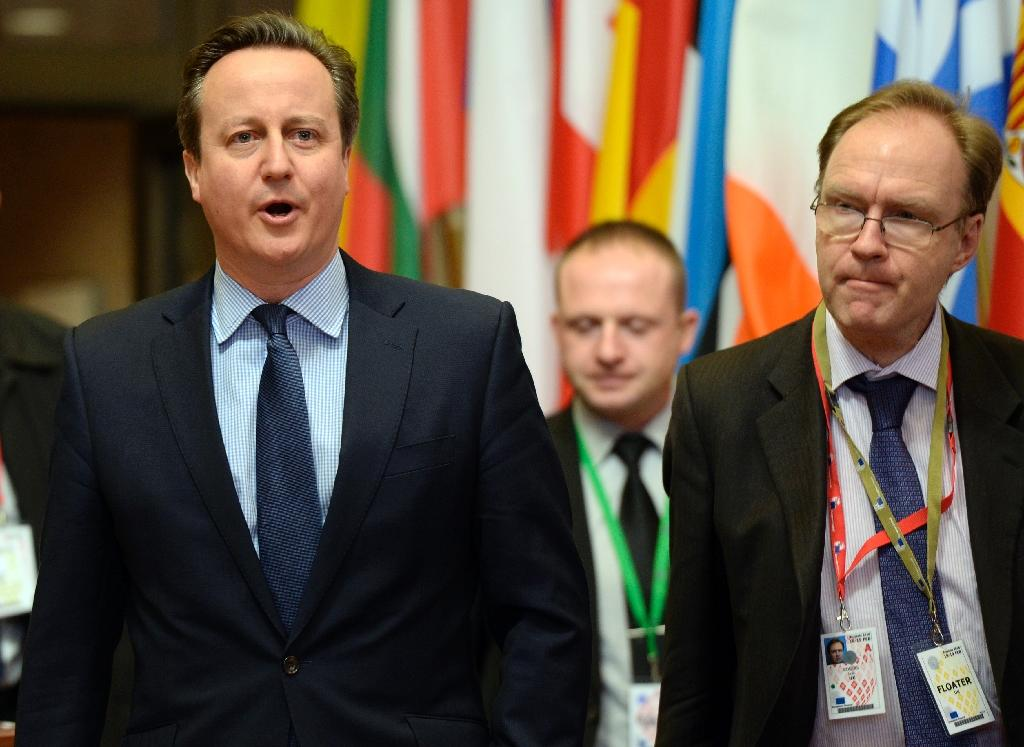 Ivan Rogers (R) quit his role as UK ambassador to the EU nine months early with sharp words ringing in the ears of civil servants (AFP Photo/Thierry Charlier)