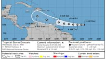 Tropical Storm Gonzalo expected to become hurricane by Thursday