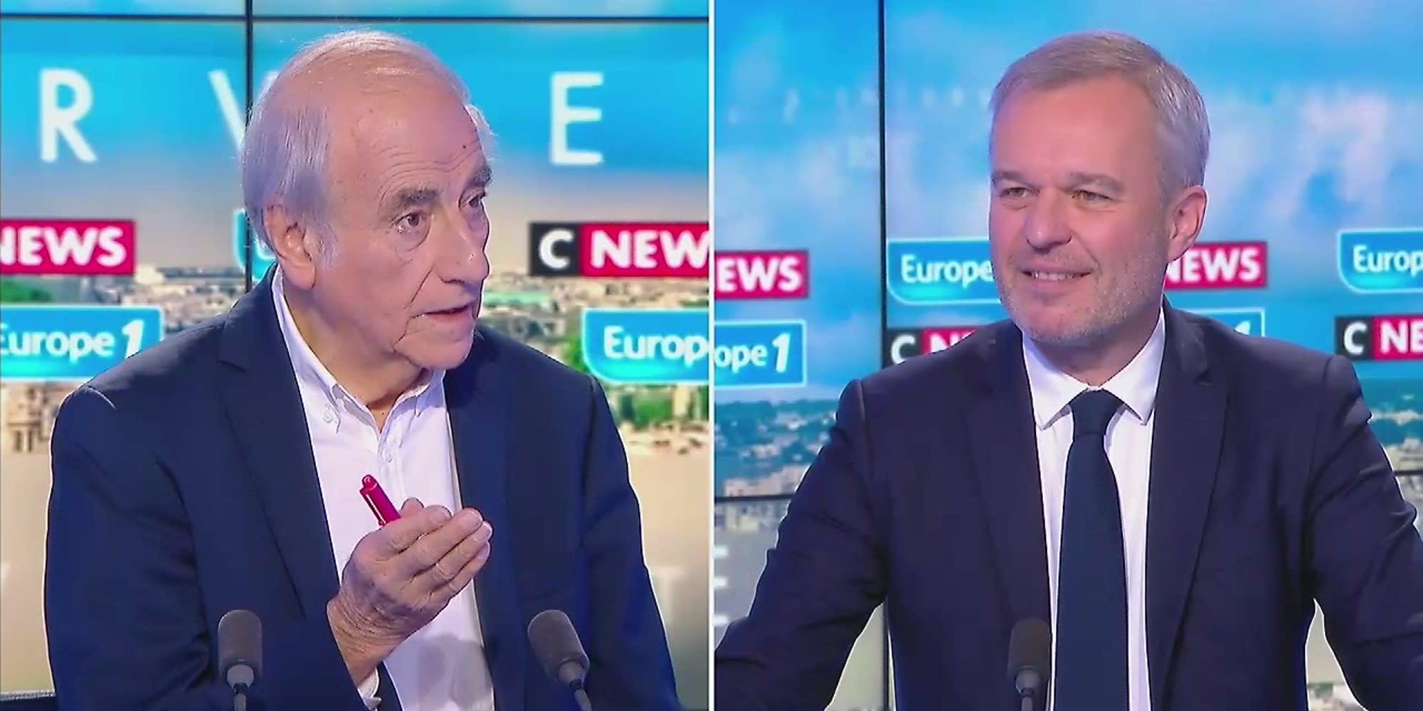 """Écologie : l'ex-ministre François de Rugy dénonce """"la course à la radicalité"""" chez EELV"""