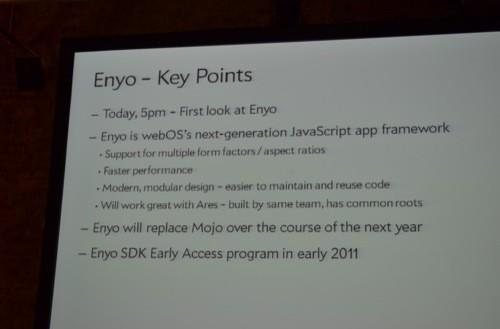Palm webOS 'Enyo' framework paves the way for tablets and larger phones (video)