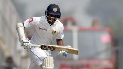 Sri Lanka spun out for 205, India 11-1