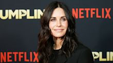 Courteney Cox's 'hard time' with aging resulted in a face of fillers she didn't recognize