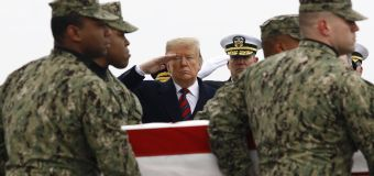 Trump's solemn words about fallen heroes ring hollow