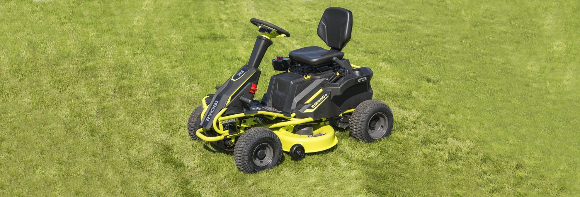 Ryobi R48110 Electric Riding Lawn Mower Is Worth A Look