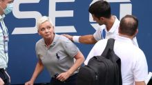 Novak Djokovic defaulted from US Open after ball hits linesperson