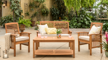 Gorgeous outdoor patio furniture you'll never believe is from Walmart