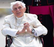 Emeritus Pope Benedict, 93, 'extremely frail' after visiting dying brother