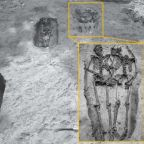 Ancient hand-holding 'Lovers of Modena' skeletons were both men, experts reveal