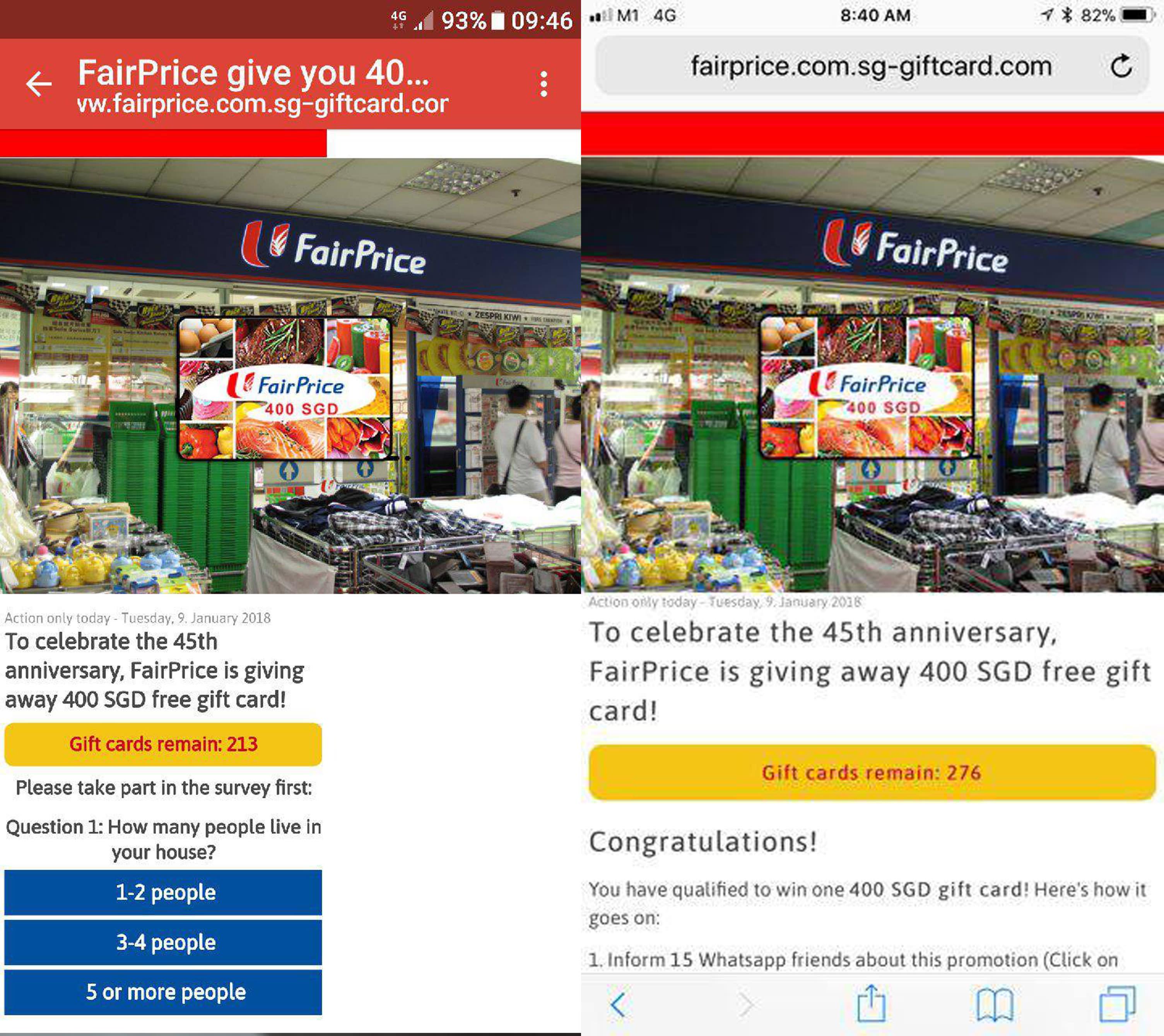News singapore phishing
