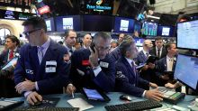 Dow Jones Leads The Retreat, But Volume Falls Off; These 4 Growth Stocks Make Big Gaps Up