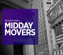 Yahoo Finance Live: Midday Movers - Nov 17th, 2017