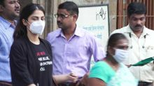 Rhea Chakraborty Spotted at NCB office after leaves jail; Watch video