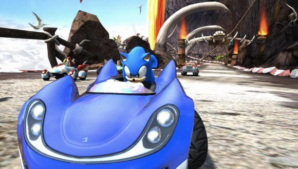 Sonic & Sega All-Stars Racing screens make a pit stop in your heart