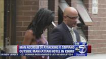 Suspect charged with hate crime in assault on V. Stiviano