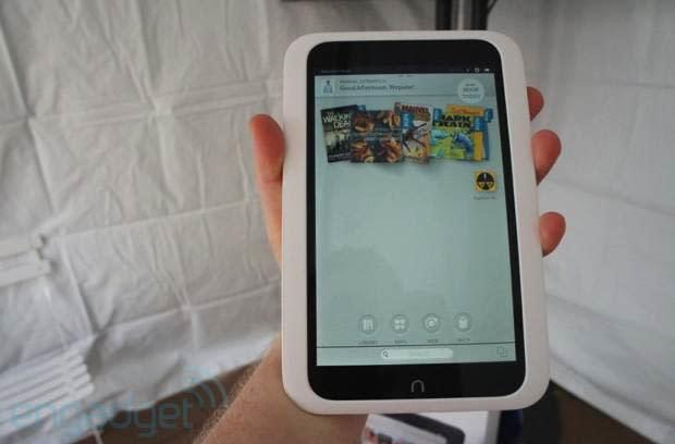 Barnes & Noble's Nook HD 7-inch Android tablet, hands-on (video)