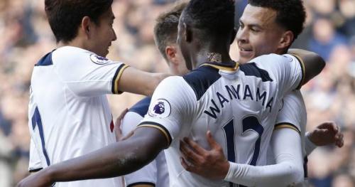 Foot - ANG - 29e j. - 29e journée : Sans Harry Kane, Tottenham enchaîne quand même