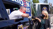 Jill Biden, Doug Emhoff Team Up In Final Campaign Stretch