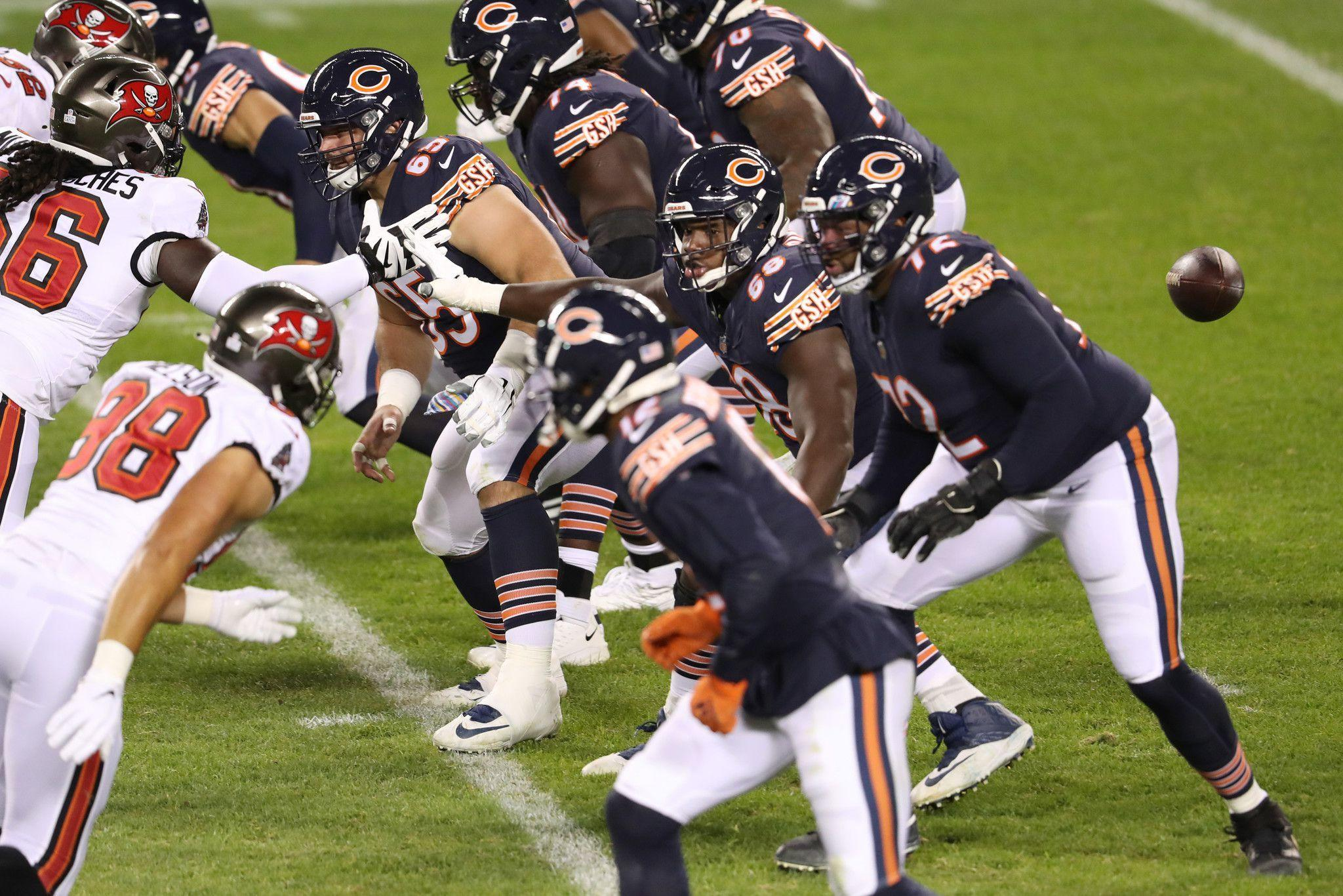 Chicago Bears practice squad player reportedly tests positive for COVID-19