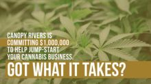 """Canopy Rivers Pitch Day """"Micro Cannabis, Macro Impact"""" Invites Cannabis Entrepreneurs to Share Their Vision and Compete for Capital"""