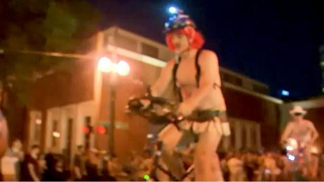 World naked bike ride 2013 hits Portland