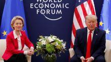 Trump y Von der Leyen se comprometen a seguir buscando un arreglo a disputas