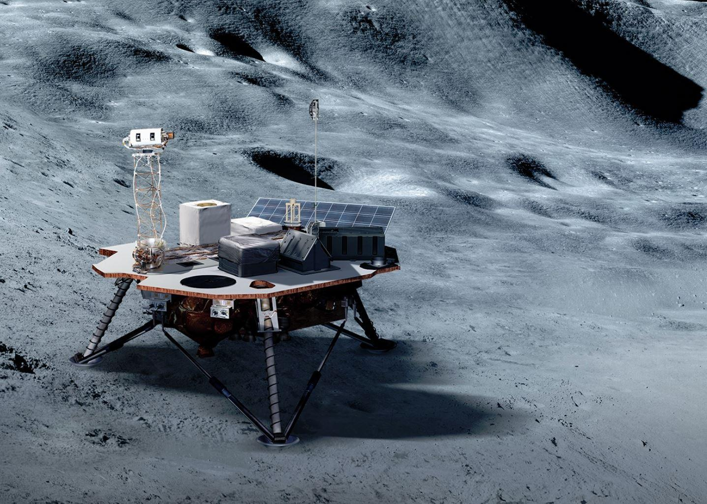 nasa commercial lunar payload services - HD1437×1025