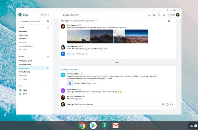 Google's more secure, 'multi-platform' Chat app requires Chrome