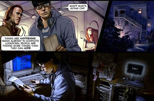 Smoking Gun teases original IP with preview of 'X' graphic novel, ARG