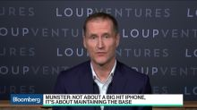 Apple Selloff a 'Buying Window' for Investors, Loup's Munster Says