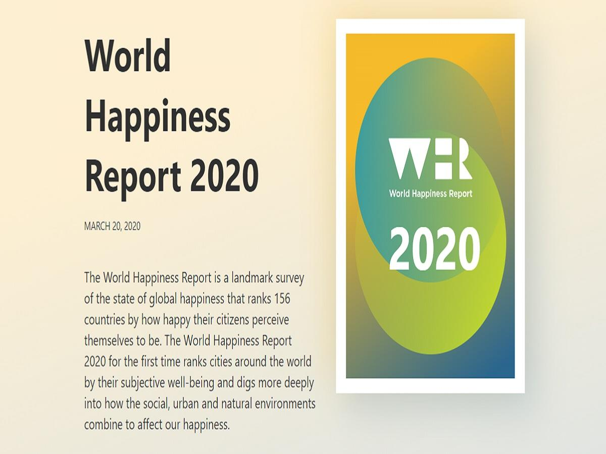 Image result for World Happiness Report 2020