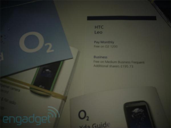 HTC Leo looking confirmed for O2 UK debut, will be free on the right plan