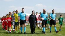 Turkish Cypriot leader snubs peace football match