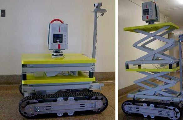 LIDAR-equipped robot maps dangerous areas in 3D so you don't have to
