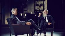 Letterman and George Clooney eat hamburgers in new Netflix special